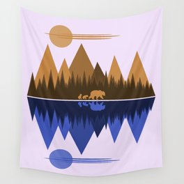 Bear & Cubs Wall Tapestry