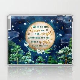 Dream me the world Laptop & iPad Skin