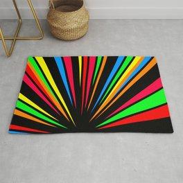 Colour spectrum  Rug