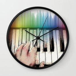From keyboard to keyboard Wall Clock