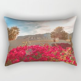Palm Springs Sign Rectangular Pillow