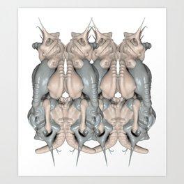 Doubletrouble Art Print
