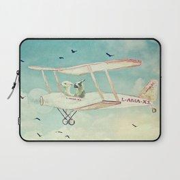 Never Stop Exploring III - THE SKY Laptop Sleeve