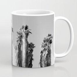 Elegantly Ragged Abandoned Palm Trees In Desert Coffee Mug