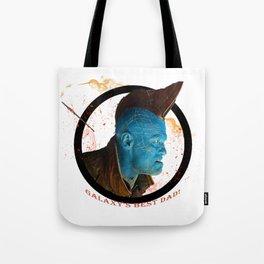 Galaxy's Best Dad! Tote Bag