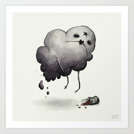 Oh Glob Art Print