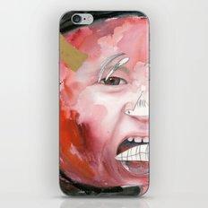 I feel angry iPhone Skin