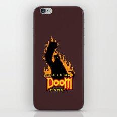 This is My Doom Hand iPhone & iPod Skin