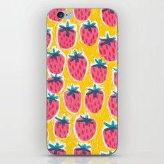 Strawberry Fun iPhone & iPod Skin