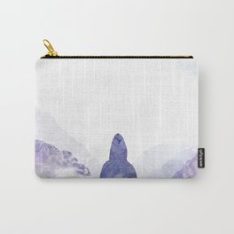 Watercolor Mountainman Carry-All Pouch