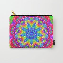 Amazing Day Neon Mandala Carry-All Pouch