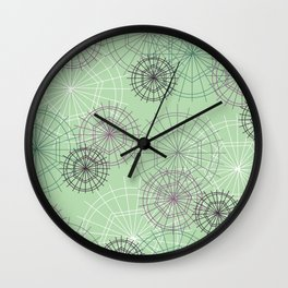 Creeping 4 Wall Clock