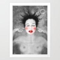 The Noise of the World - MonGhost VIII (V1) Art Print
