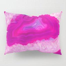 Pink ectoplasm agate Pillow Sham