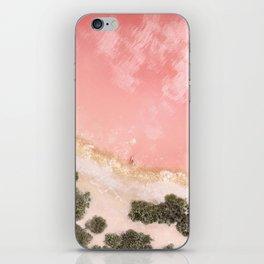 iOS 11 Rose Gold iPad background iPhone Skin