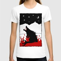 werewolf T-shirts featuring Werewolf by FROM THE ABYSS TO THE STARS
