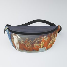 12,000pixel-500dpi - Jean-Leon Gerome - Phryne Before The Areopagus - Digital Remastered Edition Fanny Pack