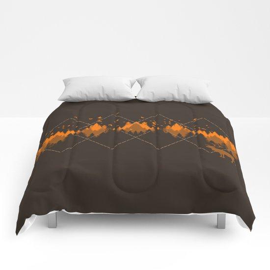 Tradicional Nature Pattern Comforters