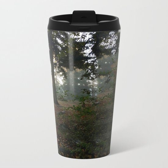 Divided In Fall (There Are No Picnics Here) Metal Travel Mug