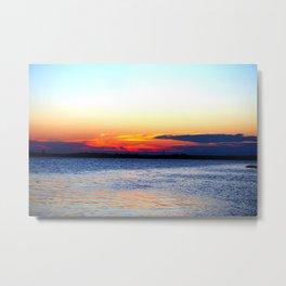 Radiant Sunset Metal Print