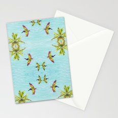 Pelicans and Palms Stationery Cards