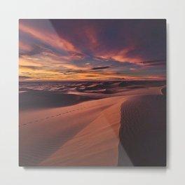Arabian desert Metal Print