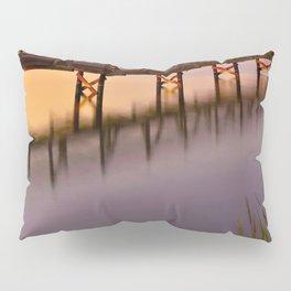 Bolsa Chica Wetlands Sunset Pillow Sham