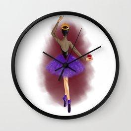 Poison Apple Wall Clock