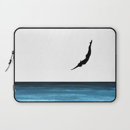 A dip in the blue Laptop Sleeve