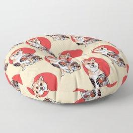 Yakuza Shiba Inu Floor Pillow