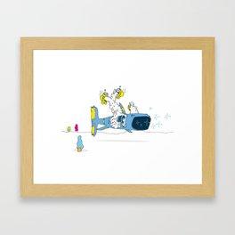PUFF3R F1SCH Framed Art Print