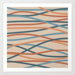 Lines-1 Art Print