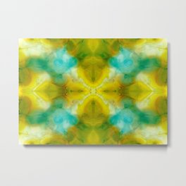 Abstract Symmetry V Metal Print