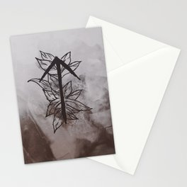 Warrior Rune Stationery Cards