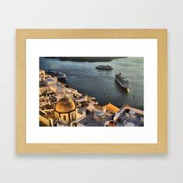 Santorini 20 Framed Art Print