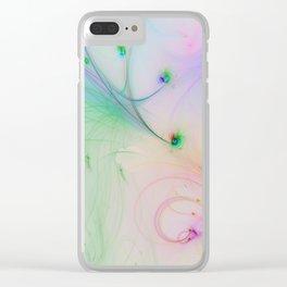 Tender feelings Clear iPhone Case