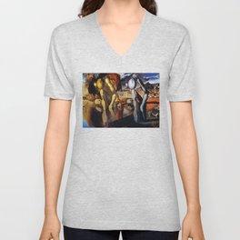 Salvador Dali Metamorphosis of Narcissus 1937 Artwork for Wall Art, Prints, Posters, Tshirts, Men, Women, Kids Unisex V-Neck