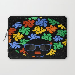 Afro Diva : Colorful Laptop Sleeve