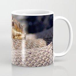 Watercolor Snake, Water Moccasin 18, Merchants Millpond, North Carolina Coffee Mug