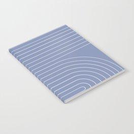 Minimal Line Curvature - Blue Notebook