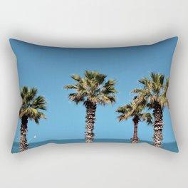 Palms in Bari Rectangular Pillow
