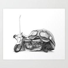 Cafe Racer II Art Print