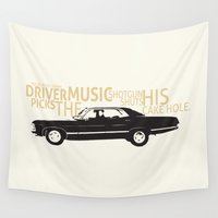 supernatural Wall Tapestries featuring Supernatural by Jess Symons