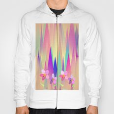 Mountains And Flowers Hoody