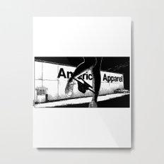 asc 503 - La vente à la sauvette (The backyard sale) Metal Print