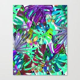 Queen floral b Canvas Print
