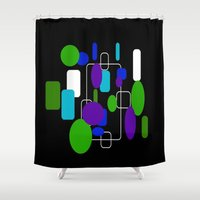 community Shower Curtains featuring Community by lillianhibiscus