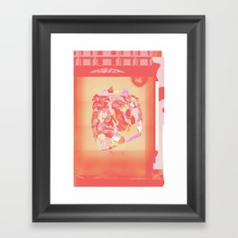 July Framed Art Print