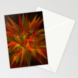 barth's decic overlayed with a fractal design Stationery Cards