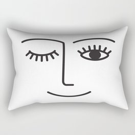 Wink Rectangular Pillow